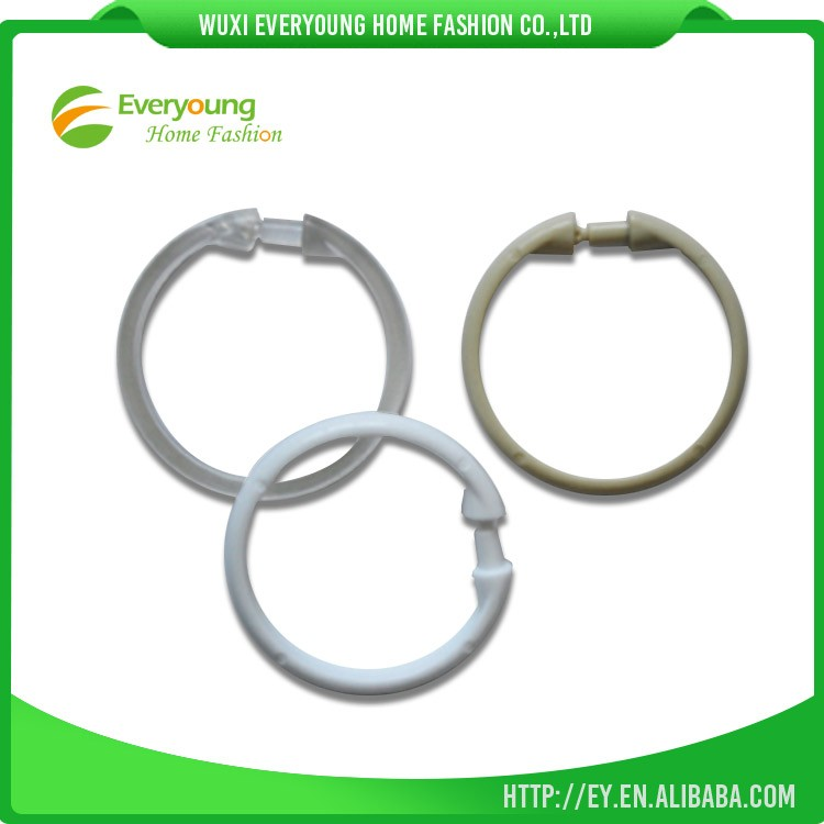 High Quality Plastic Hot Sale Wholesale China Shower Curtain Rings