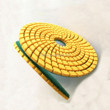 "3"" Diamond Polishing Pads 50# Flexible Marble Granite Concrete Stone Wet Dry Resin Bond Grinding Floor Disc Set"