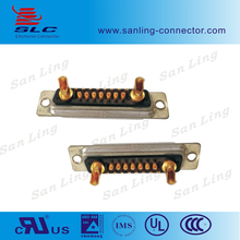 High Power customization 26 pin double 17W2 d-sub connector