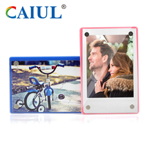 Golden Supplier Magnetic icebox Magnet Fuji instax Mini Small Photo Frame