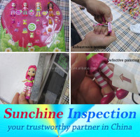 Kids Toys Quality Inspection / Strawberry Shortcake Doll Pre-Shipment Inspection Services in Guangzhou / Zhongshan / Huizhou