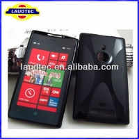 X Line Wave TPU Gel case for Nokia Lumia 925,Lumia 925 Wave Gel case cover ,High quality----Laudtec
