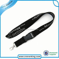 Bulk high quality short woven polyester wristband with silkscreen printing