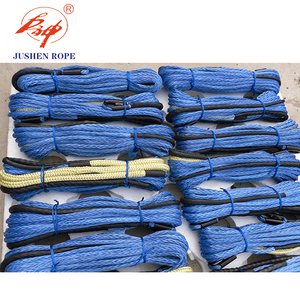 Big size uhmwpe synthetic winch rope