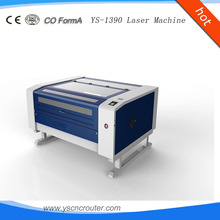 9013 metal and nonmetal laser cutter two heads laser cut for leather 1390 1530 1325