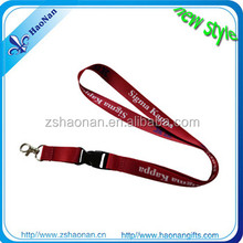 Promotional customized cell phone holder lanyard