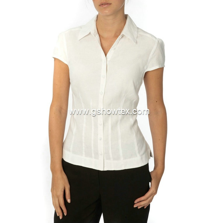 Office uniform design fashion cutting blouse design
