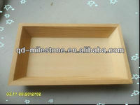 Pine Eco-friendly Rectangle Handcraft Tray