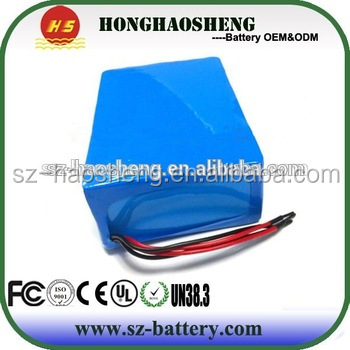 Lifepo4 Battery 64V 10AH With High Cycle Times For Electric Vehicle Lifepo4 Battery