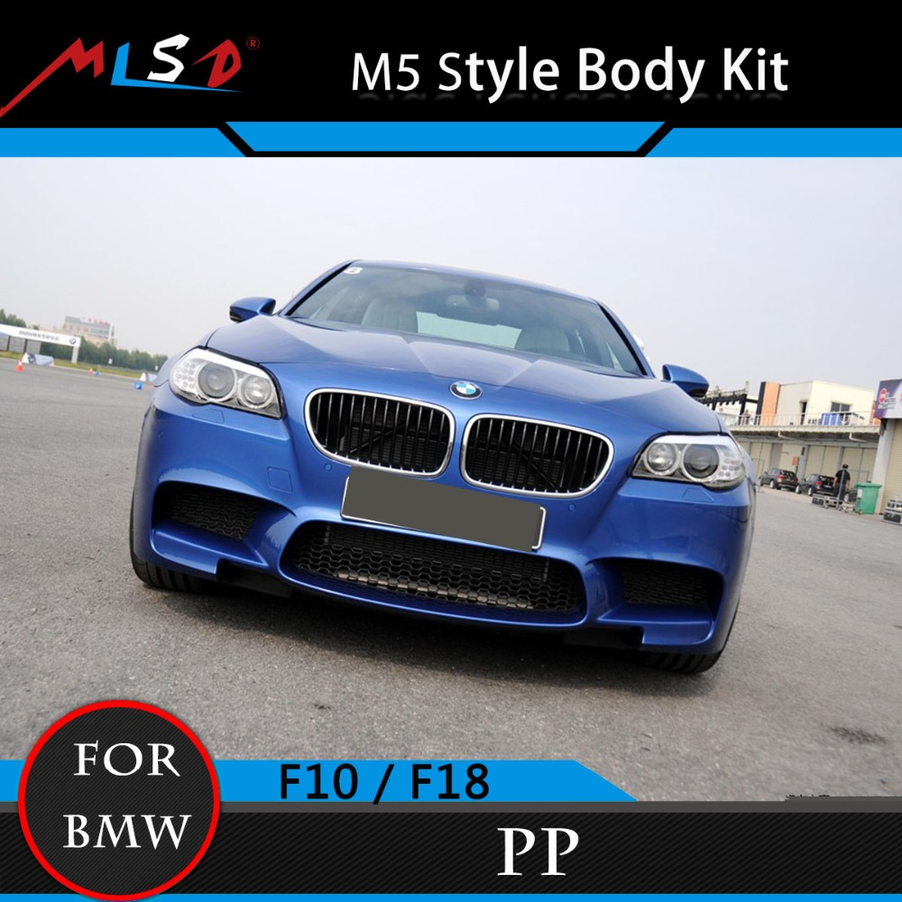 5 Series F10 Bodykits Perfect Fitment M5 Style Styling Bumper Kit For BMW 5 Series F10 Car Covers Bodykits 11-13