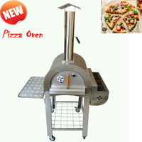 Baker Stainless Steel Wood Fired Pizza Oven