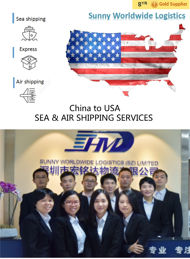 China to USA door delivery to Miami/NewYork/Dallas Container sea shipping services