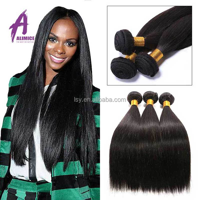 100% Remy Brazilian Human Hair Sew In Weave 8A Top Grade Unprocessed Hair Weft Brazilian Virgin Remy Hair
