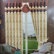 High quality fancy jacquard curtain fabric latest curtain fashion designs Luxurious Ready Made Curtain