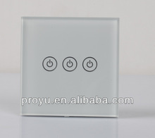 Smart touch screen light switch PY-LB-W3