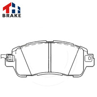 China manufacturer toyota auto brake pad