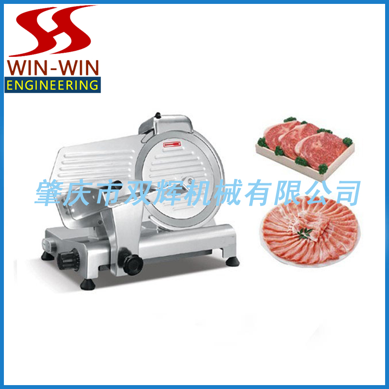 High quality semi-automatic frozen meat slicer