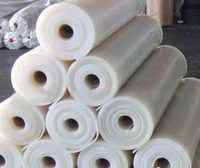 high tear proof strength solid silicone rubber sheet by laminating press