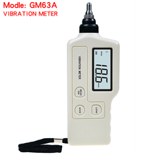 Hight quality GM63A Handheld Portable LED Digital Vibration Sensor Meter Tester Vibrometer Analyzer Acceleration Without box