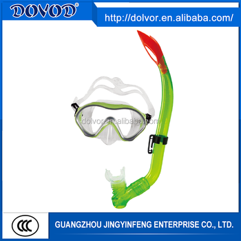 Diving & swimming use diving equipment silicone mask snorkel
