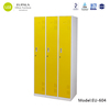 Colorful steel locker with 3 compartments