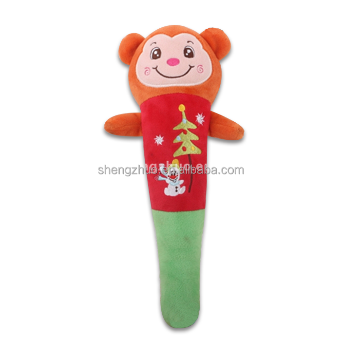 Manufacturing soft monkey festival roller back mini massage stick