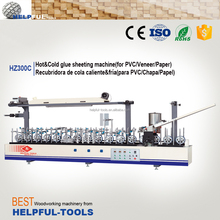 Helpful brand Shandong Weihai Profile wrapping machine HZ300C , profile machine ,pvc profile laminating machine