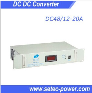 high frequency telecom DC step down converter 48V to 12V