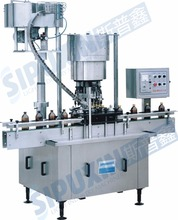 Automatic Aluminum Cap Screw Bottle Capping And Sealing Machine