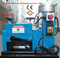 BS-002 rubber cable stripper and aluminum wire pulling drawing machine