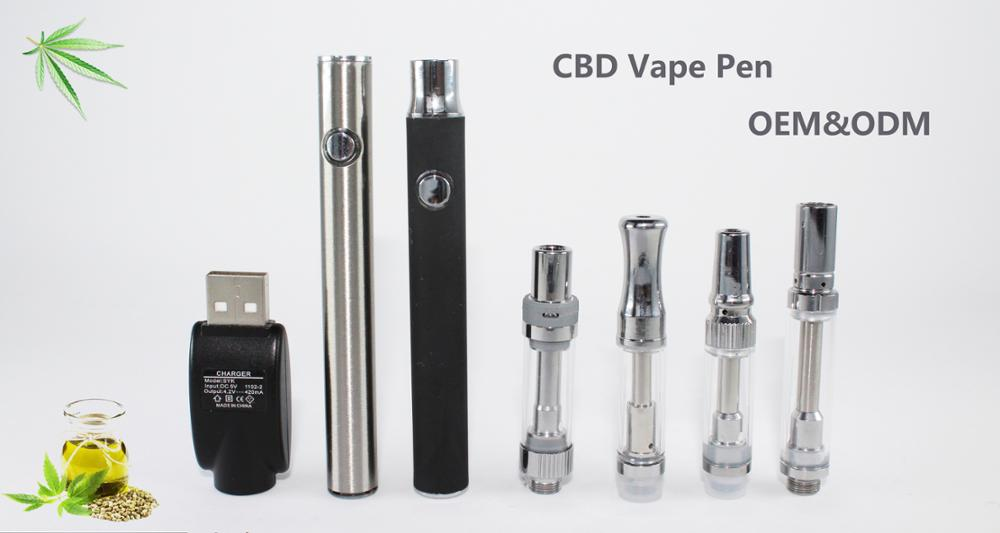 China Wholesale High Quality Preheat CBD Oil Cartridge 510 Thread CBD Vape Pen Battery