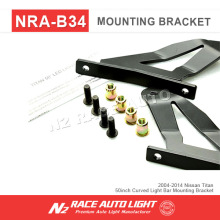"288w Curved led bar light mounting bracket, windshield brackets for 50""off road led light bar"