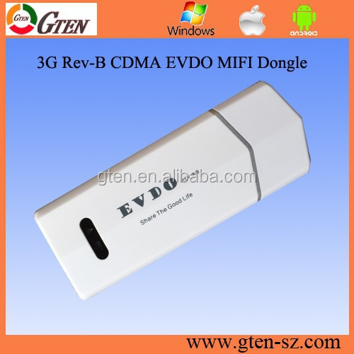 mobile service supplier cdma evdo rev b modem 3.1/14.7M