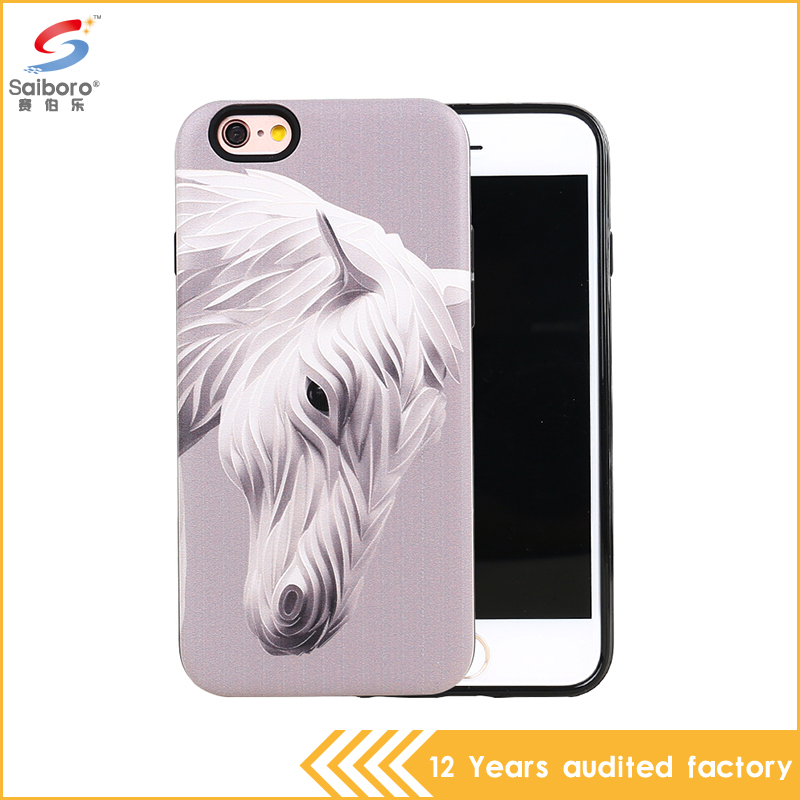 China phone case manufacturer with animal for iphone 6