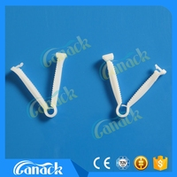 disposable medical Sterile umbilical cord clamp for newborn baby made in Hangzhou