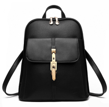 Roll Top Custom Wholesale Vintage Leather Backpack