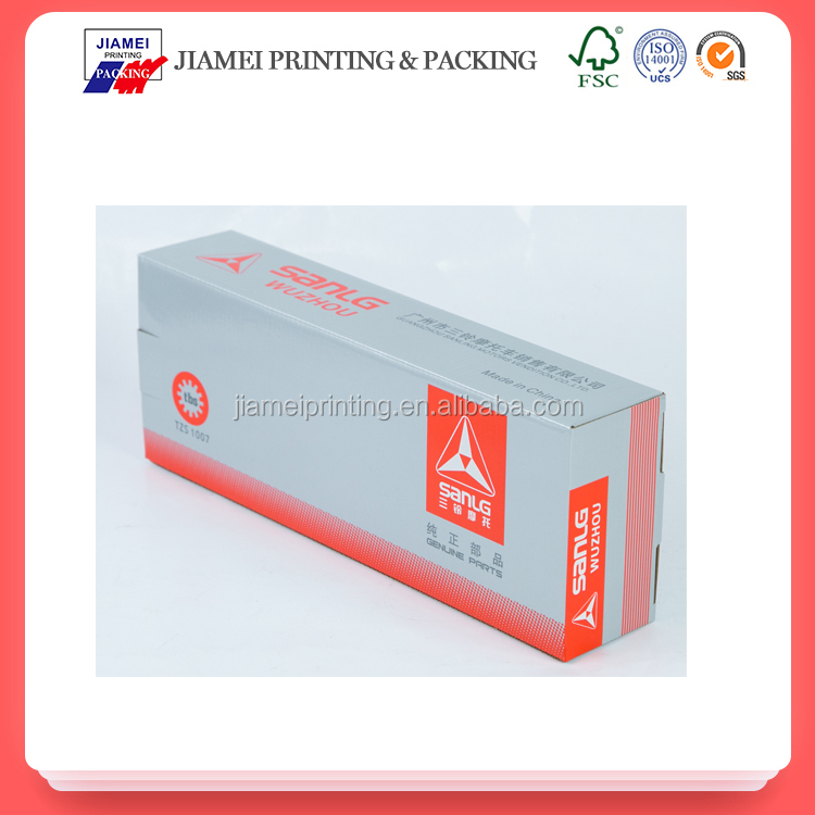 wholesale customized color small corrugated paper shipping box