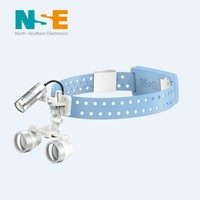 NSE wireless portable rechargeable surgical loupes led headlight assembly