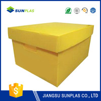 pp storage box for electronic packaging