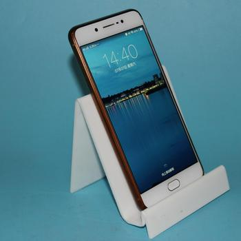 OEM White Acrylic Cell Phone Table Stand Holder For Apple Phone