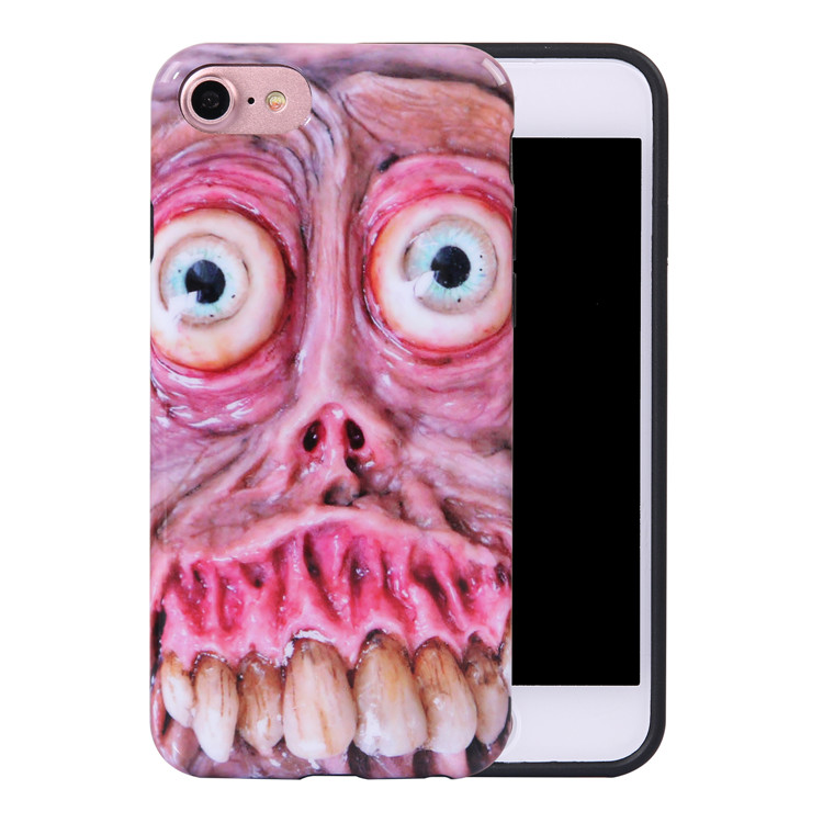 Ghost Resident Evil Cell Phone Case Wholesale 2018 for iPhone Case , for iPhone 8 Case tpu Silicone