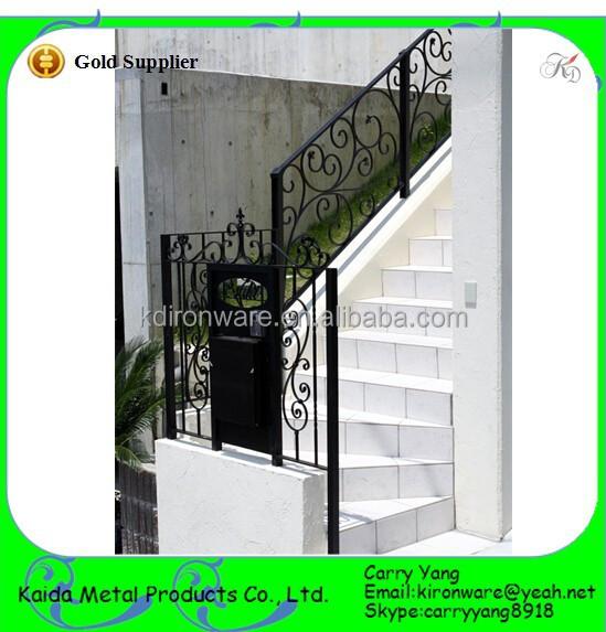 Tipi di ringhiera delle scale in ferro battuto scala esterna design parapetti e corrimano id - Ringhiera scala esterna ...