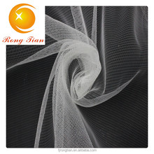 nylon tricot mesh bridal fabric for wedding dress