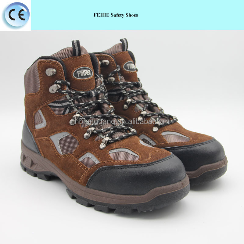 fashionable female work safety shoes boots footwear for women and men