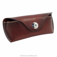 Newest High Quality Leather Sunglasses Case Eyeglasses Case