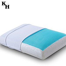 Shiatsu massage cool gel pillow memory foam on discount