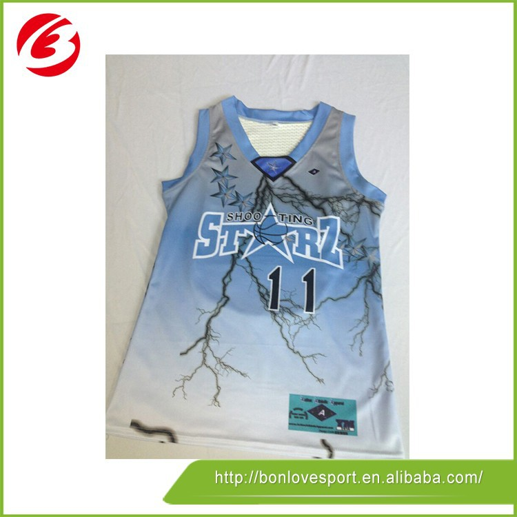 2016 Fashionable Colorful Basketball Jersey And Shorts
