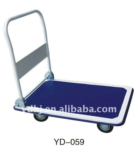 YD-059 Stainless Steel Flat Hand Trolley Cart
