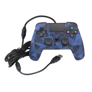Top Selling OEM Blue Design For PS4 Wired Controller With Touch