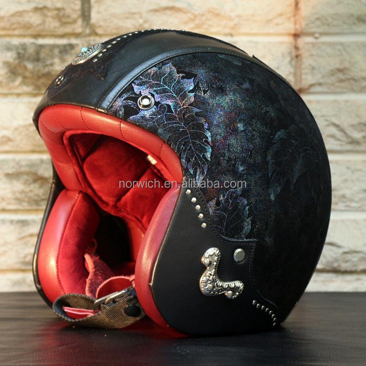 2016 Stylish cheap motorcycle accessories open face Motorcycle helmet